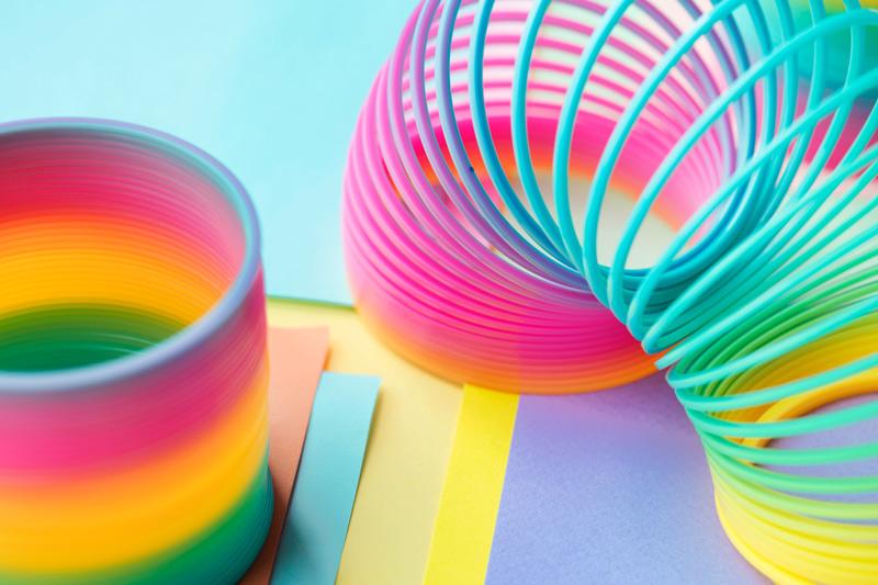 Ressorts de couleur